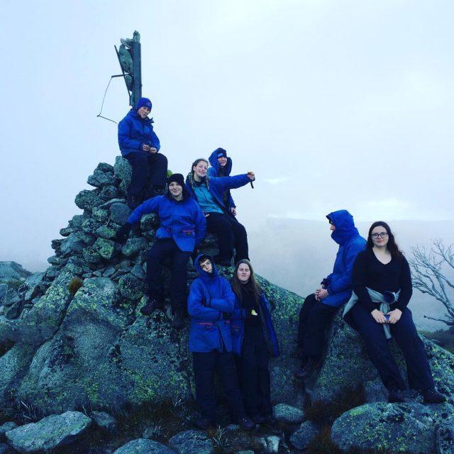 Summiting Jaitmathang! Woo!! Group 3 feeling good!